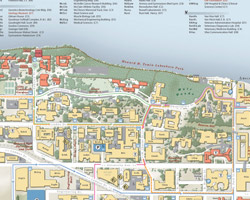 UW Print Campus Map
